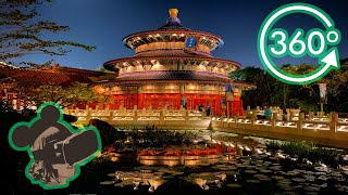 360º 4K View of Reflections of China at EPCOT