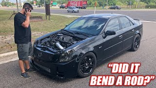 Download I Drove Cooper's CTS-V and Immediately Broke It... Badly Mp3 and Videos