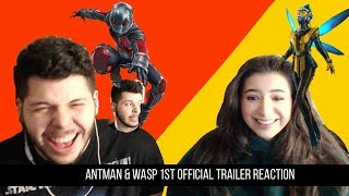 Ant-Man & The Wasp Trailer REACTION!!!!!