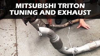Mitsubishi Triton - Turbo Diesel Tuning and Exhaust Comparison