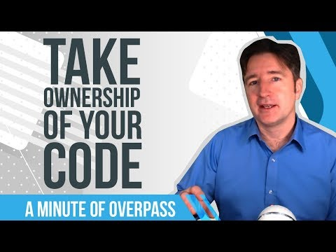 Take Ownership of Your Code - A Minute of Overpass, The UK App Developers