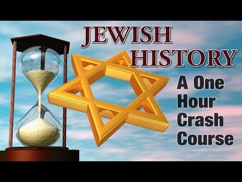 JEWISH HISTORY: A 1-Hour Crash Course - Rabbi Skobac Jews for Judaism (Shabbat Torah Israel kosher)