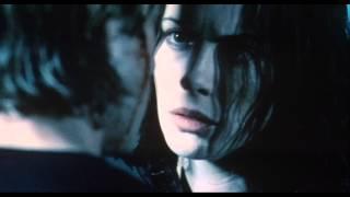 ブラックレザーのロングコートに身を包み、夜の街を見下ろす一人の美女...