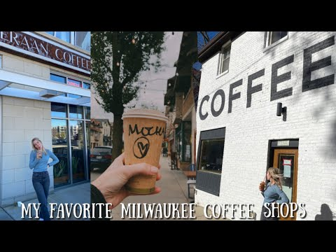 5 BEST COFFEE SHOPS IN MILWAUKEE | Downtown Coffee Shops to Visit