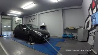 Renault Clio 3 1.5 dci 105cv Reprogrammation Moteur @ 126cv Digiservices Paris 77 Dyno