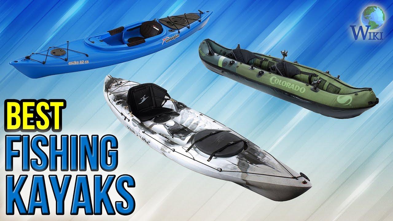 6 Best Fishing Kayaks 2017 Youtube