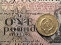 UK - One Pound 2001 Celtic Cross - N. Ireland One Pound Sterling Note