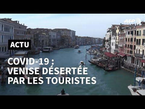 Nouveau coronavirus: les touristes ont déserté Venise | AFP News
