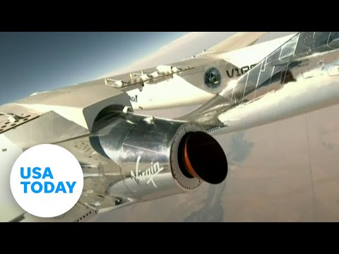Virgin Galactic launches Unity 22 into space (LIVE) | USA TODAY