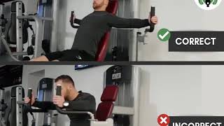 Seated machine fly do's & don'ts