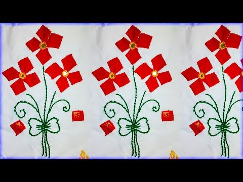applique-work-hand-embroidery-design-tutorial