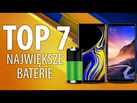 Telefony z DUŻĄ baterią 🔋 Ranking Smartfonów