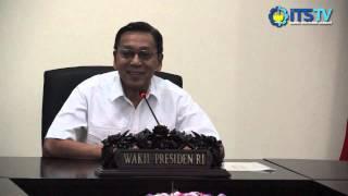 Pelepasan Tim Maritime Challenge Indonesia 2014 oleh Wakil Presiden RI
