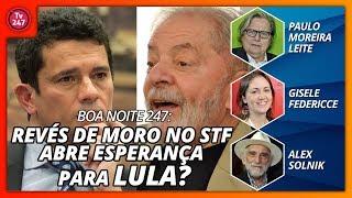 Boa Noite 247 Revés De Moro No Stf Abre Esperança Para Lula