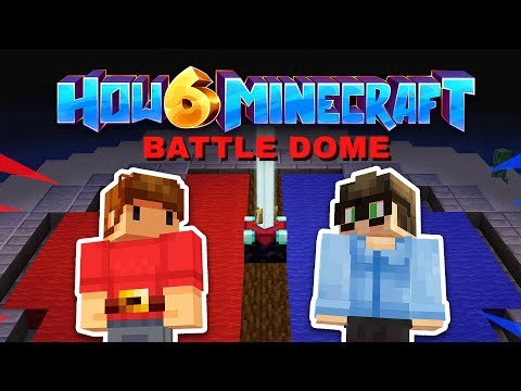 How To Minecraft - ADMIN STREAM - Battle Dome