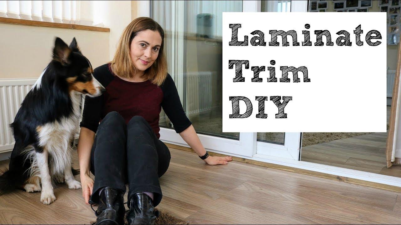 Installing Making Laminate Flooring Beading The Carpenter S