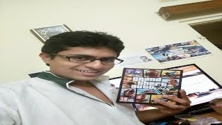 GTA5 PC retail DVD in-depth unboxing Indian version.