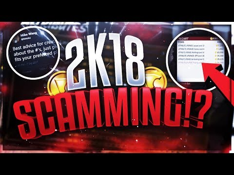 MAJOR GAME BREAKING FLAWS IN NBA 2K18 - DO NOT BUY VC FOR YOUR ARCHETYPE - NBA 2K18 SCAMMING!?