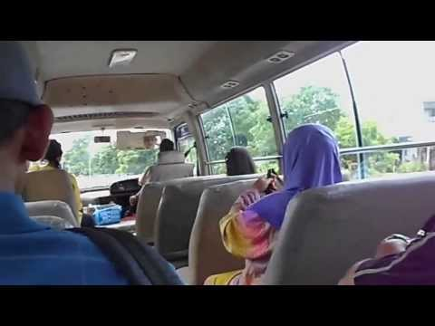 Driving in Brunei [Inside The Bus]