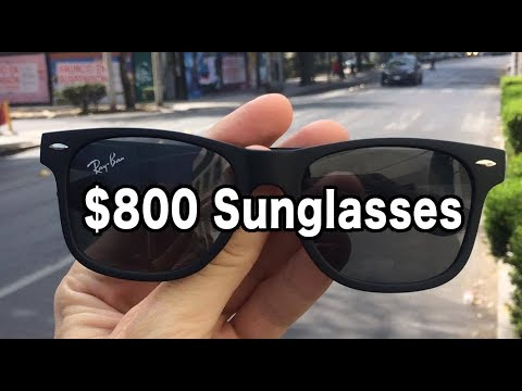 $800 Sunglasses in Mexico City — Mexico Travel Vlog #3