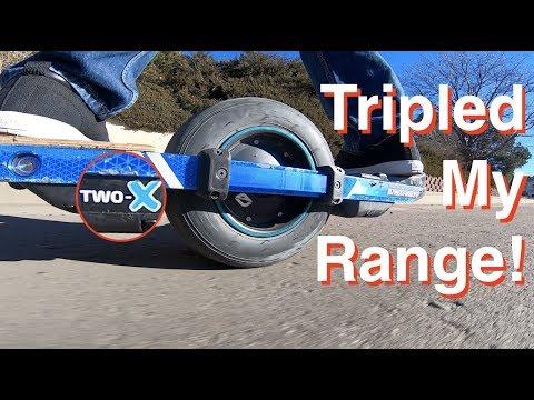 Two-X Onewheel Range Test, Review & Dim Sum!