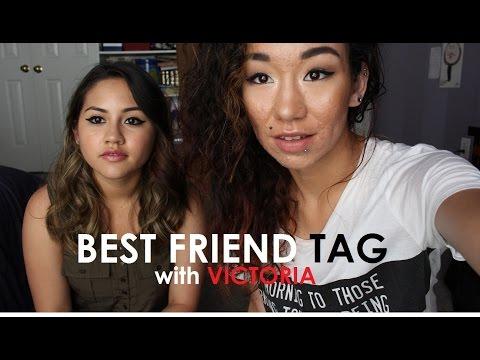 Best Friend Tag With Victoria   Jehbuu