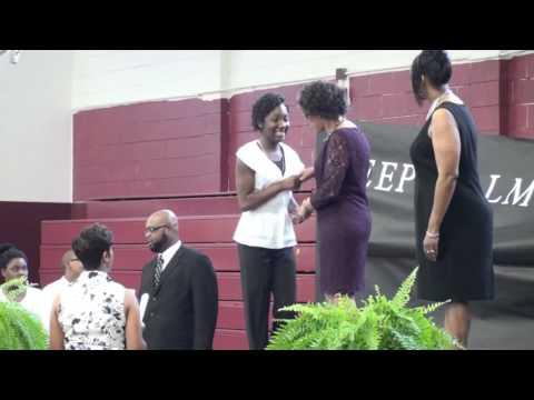 Tuskegee Institute Middle School 2014 Graduation