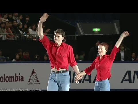 """[HD]Tatiana Totmianina and Maxim Marinin - 2002 Worlds Exhibition - """"A Girl Like You"""""""