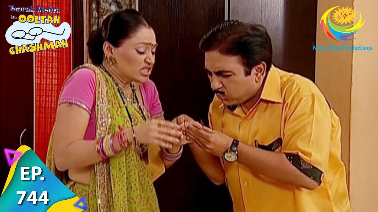 Download Taarak Mehta Ka Ooltah Chashmah - Episode 744 - Full Episode