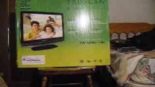 Unboxing PROSCAN 32'' HDTV 720p-1080i