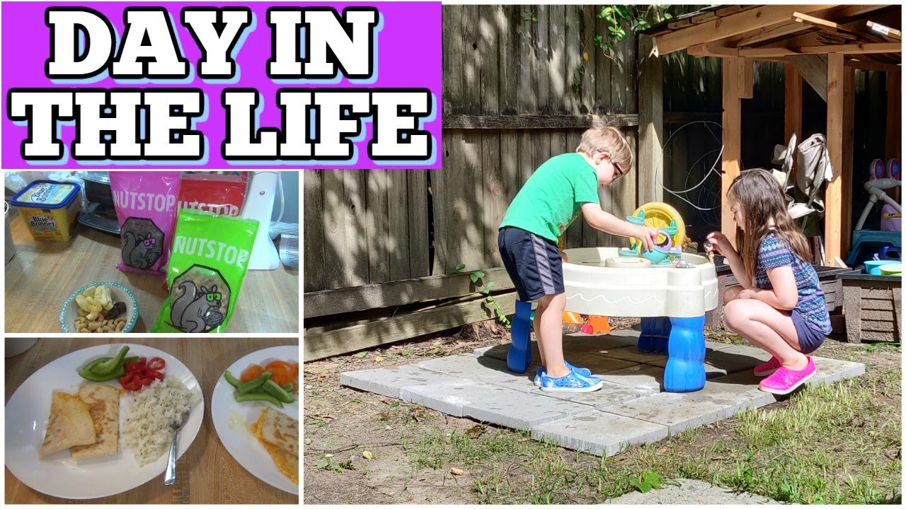 Day In The Life Stay At Home Mom | What We Ate