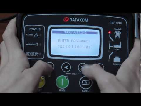 DKG-5xx / 3xx Enter Programming