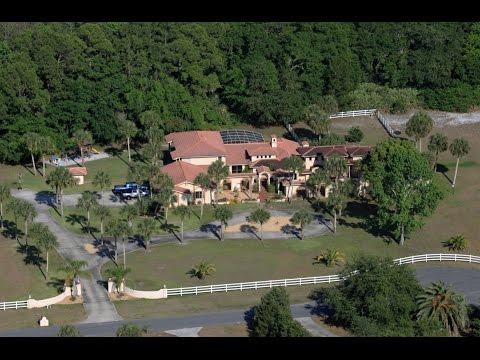 Mediterranean/Spanish-style Architecture on 5 Acres For Sale in Port Orange, FL