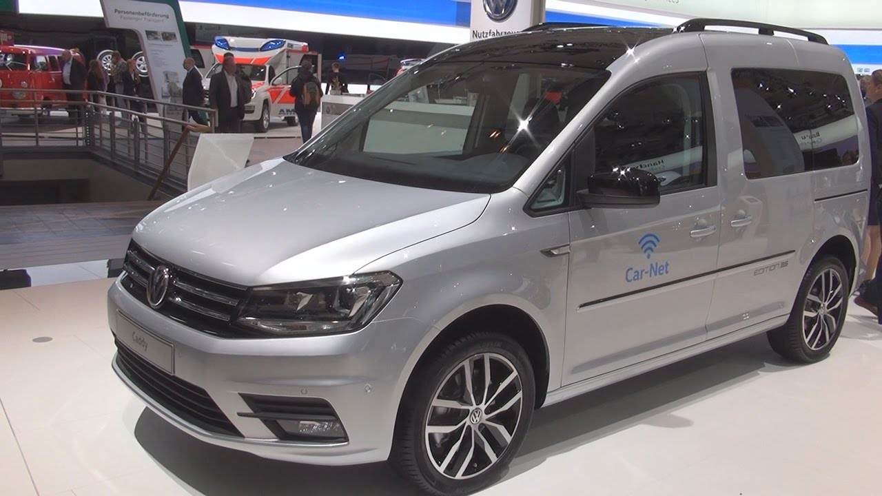 volkswagen caddy edition 35 2 0 tdi combi van 2017 exterior and interior in 3d youtube. Black Bedroom Furniture Sets. Home Design Ideas