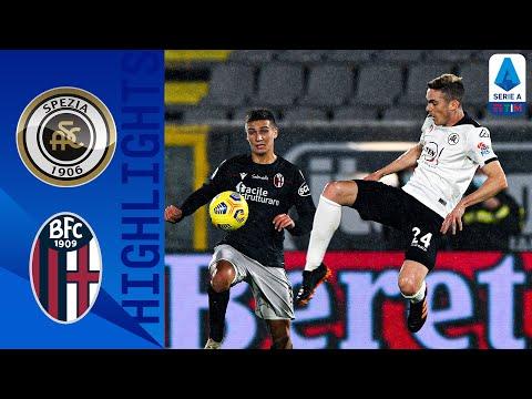 Spezia 2-2 Bologna   Il Bologna rimonta con Dominguez e Barrow nel finale   Serie A TIM