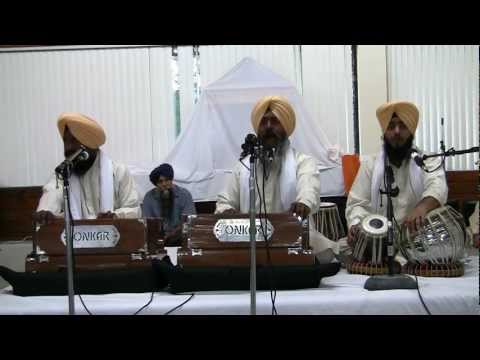 Bhai Gurcharan Singh Hazoori Ragi - 8-15-12 - Live SRS Chicago (HD)