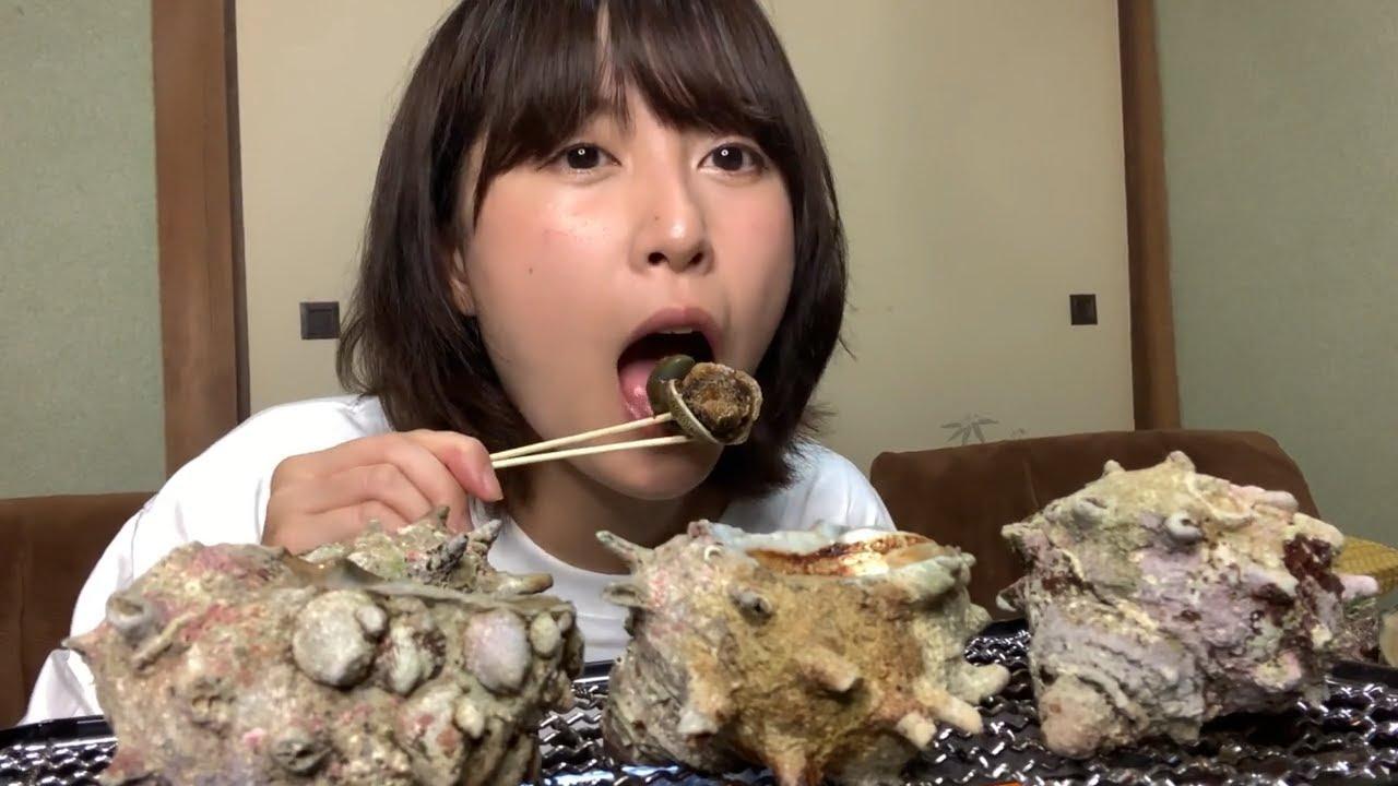 【晩酌】夏の終わりに活きの良いサザエを食べつくす【壺焼き】