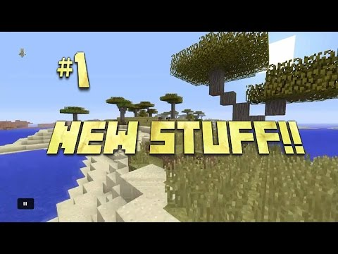 Minecraft PS4 Survival #1 | TONS OF NEW STUFF!! :D