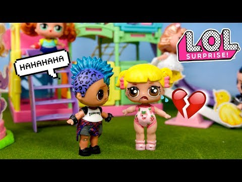 LOL Punk Boi Bullies Baby Goldie - Barbie Family School Morning Routine