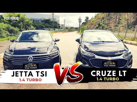Jetta 1.4 Turbo X Cruze 1.4 Turbo ?!!! Drag Race !