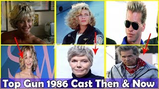 Top Gun 1986 Cast Then and Now 2019(Before & After) | Top Gun Movie Cast Real Name and Age