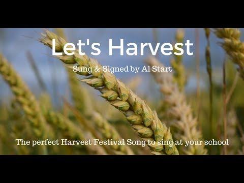 'Let's Harvest' by Al Start, original children's harvest festival song, new free download!