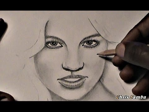 How to draw a realistic girl for beginners