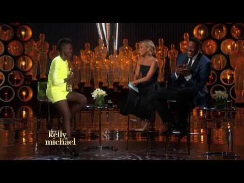 OSCAR® Winner Lupita Nyong'o on LIVE with Kelly and Michael