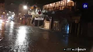 الأمطار تغمر العاصمة عمان بأكثر من 45 مليمترا (24/1/2020)