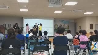 당직골김덕희가수겸강사 이혜민 광교문화센타 초대가수