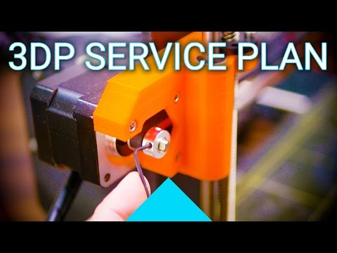 Basics: How And When To Service Your 3D Printer!