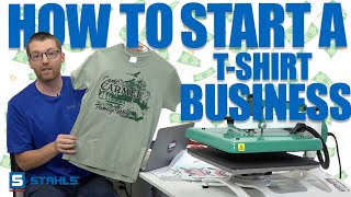 How to Start a TShirt Business at Home | Key Things to Know!