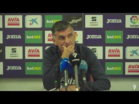 Rueda De Prensa De Mendilibar Previa Al Betis - Eibar 2019/20