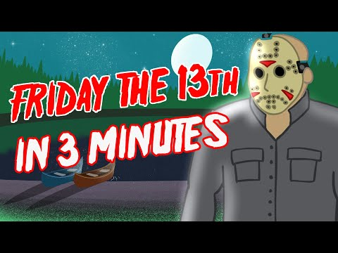 EVERY Friday the 13th Movie in 3 minutes| Animated Recap
